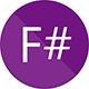 logo techno F#
